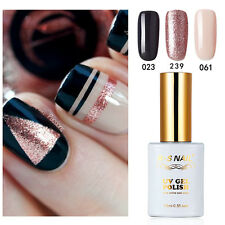3PCS RS 023_061_239 Gel Nail Polish UV LED Glitter Varnish Soak Off 0.5fl.oze
