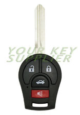 New Replacement Remote Head Key Fob for 2013 2014 2015 Nissan Sentra CWTWB1U816