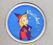 BEWITCHED round drinks COASTER - RETRO CLASSIC!