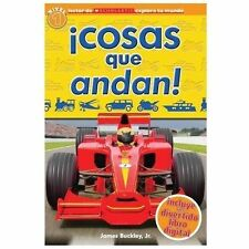 In Spanish Things that Go early beginning reader kids book great photos level 1