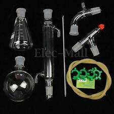 500ml,24/29,Glass Distillation Apparatus,Laboratory Chemistry Glassware Kit