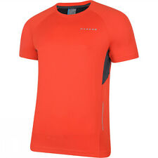 Dare2B Mens Volition Wicking Quick Dry Technical Running Cycle T Shirt NEW
