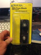 Blue Sea Systems #5001 SEA FUSE BLOCK MEGA W/COVER,100-300 AMPS DC,NEW!!!