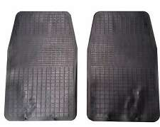 Front Waterproof Rubber Car Mats 2 Piece For Vauxhall Astra Corsa Insignia Adam