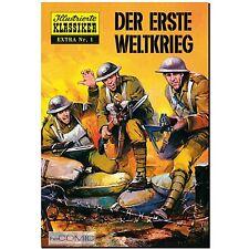 Illustrierte Klassiker Extra 1 Der erste Weltkrieg 20er HISTORY COMIC LP BSV