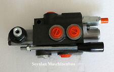 Valvola idraulica,Valvola di regolazione manuale 1-lato 50 L/per Doppio effetto