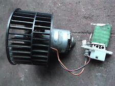 VAUXHALL CORSA B / MK1 COMBO HEATER MOTOR BLOWER FAN AND RESISTOR, SPEED CONTROL