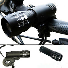 JT2 240 lumen Q5 Bike Bicycle Front Flashlight Head LED LIGHT Torch With Mount