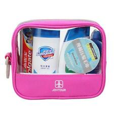 JT Travel Camping Bath Toiletry Bag Organizer Storage Cosmetic Makeup Pouch PINK