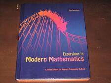 EXCURSIONS IN MODERN MATHEMATICS BY PETER TANNENBAUM, 8TH EDITION (EVERETT C.C.)