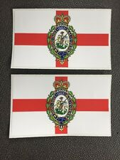 2X Fusilier Regiment MILITARY ARMY LAND ROVER WOLF WMIK DEFENDER DECALS
