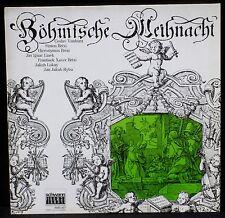 Böhmische Weinhacht Schwann Germany Charlin Vanhura Brixi Linek... LP & CV NM