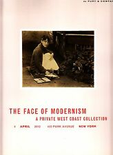 The Face of Modernism West Coast Collection April 4 2012 Phillips de Pury NY