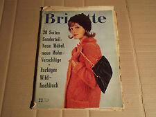 BRIGITTE - 23 - 01.11.1960 - NEUE MÖBEL - NEUE WOHNVORSCHLÄGE - WILD-KOCHBUCH