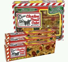 Claxton Fruit Cake (3) 1lb Cakes (FREE US PRIORITY SHIPPING) ***$@LE***
