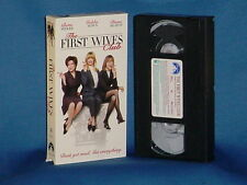 BETTE MIDLER GOLDIE HAWN The First Wives Club VHS DIANE KEATON