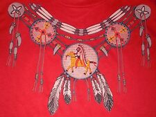 Dream Catcher Necklace T-Shirt Adult Medium Made in the U.S.A.