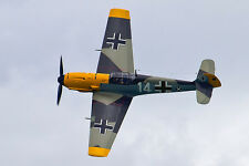 1/6 scale MESSERSCHMITT BF-109E scratch build R/c Plane Plans 61 in. wing span