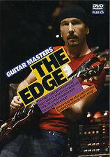 Guitarra Masters el borde Aprende A Tocar De U2 lección Dvd Cd