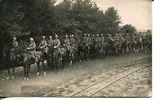 Deutsche Reichswehr  Kavallerie Trupp um 1935 Stahlhelm Pferde Foto AK