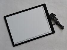A4 Tattoo Light Box Supply Ultra Thin Tracing Table Pad Stencil Board UK Plug