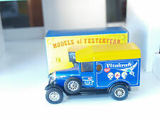 Vintage Matchbox  'Models of Yesteryear' Morris Cowley 'Vitakraft'  (No.Y-19)