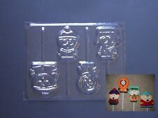 South Park Lollipop Chocolate Candy Soap Crayon Mold