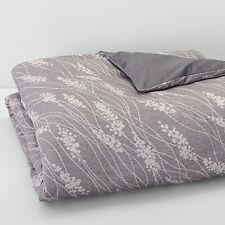 Oake Bedding, Briar Duvet Cover Full/Queen Gray Z172