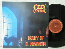 OZZY OSBOURNE DIARY OF A MADMAN NOT OZZY PHOTO 6TRACK 1986 LP W/IN NM ~ M- Promo