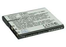 3.7V battery for Sony Cyber-shot DSC-W570V, Cyber-shot DSC-W610G, Cyber-shot DSC