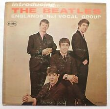 Introducing The Beatles . 1964 Vee-Jay Records LP Long Playing Mono VG LISTEN