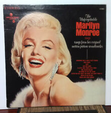 "Marilyn Monroe Sings... 1967 Movietone Records 12"" 33RPM LP (VG) **RARE**"