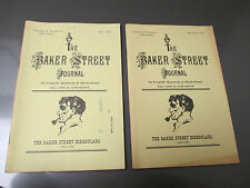 1978 BAKER STREET JOURNAL Irregulars SHERLOCK HOLMES FVF v.28 #2 & 4 Lot of 2