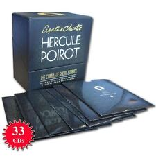Hercule Poirot Complete Classic Collection Agatha Christie Audio Books 33 CD Set