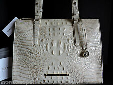 Brahmin Anywhere Tote Cava Croco Embossed Leather Multi-Function Bag NWT