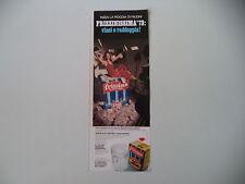 advertising Pubblicità 1973 FRIZZINA STAR