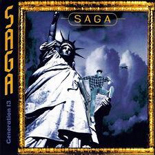 SAGA Generation 13 2015 remastered 19-track digipak CD NEW/SEALED