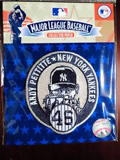 MLB Official Authentic New York Yankees Andy Pettitte #46 Retirement Patch 2015