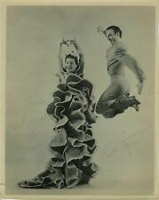 Jose GRECO (Dance): Signed Photograph