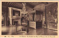 64 - cpa - PAU - Le château - La chambre des rois de Navarre