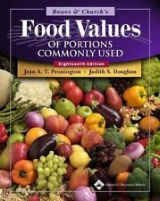 Bowes And Church's Food Values Of Portions Commonly Used by Jean A T Pennington