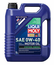 Liqui Moly Synthoil Energy SAE 0W-40 Fully Synthetic Engine Oil 5L 2050