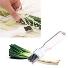 Onion Vegetable Cutter slicer multi chopper Sharper Scallion Kitchen knife Shred