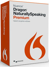 Nuance Dragon NaturallySpeaking Premium 13 - with USB Adapter PLUS - RETAIL BOX