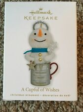 Hallmark Keepsake 2010 Cup Full Of Wishes Ornament New Free Shipping