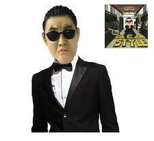 Cosplay Gangnam Style Psy Latex Mask Silicone face Mask Funny Celebrity Party
