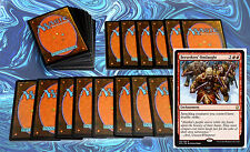 mtg budget RED KHANS DECK Magic the Gathering rare cards lot NM