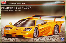 1997 Mc Laren F1 GTR Long Tail Pre-Season Testing, 1:24, Aoshima 07495