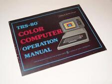 Radio shack tandy TRS-80 color computer operation manual ~ softback book (1)