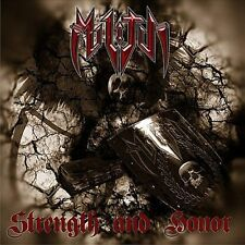 Militia-Strength and Honor CD NEW